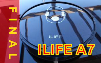 Review del robot aspirador iLife A7