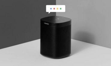 La beta de Sonos One con Google Assistant empieza a propagarse