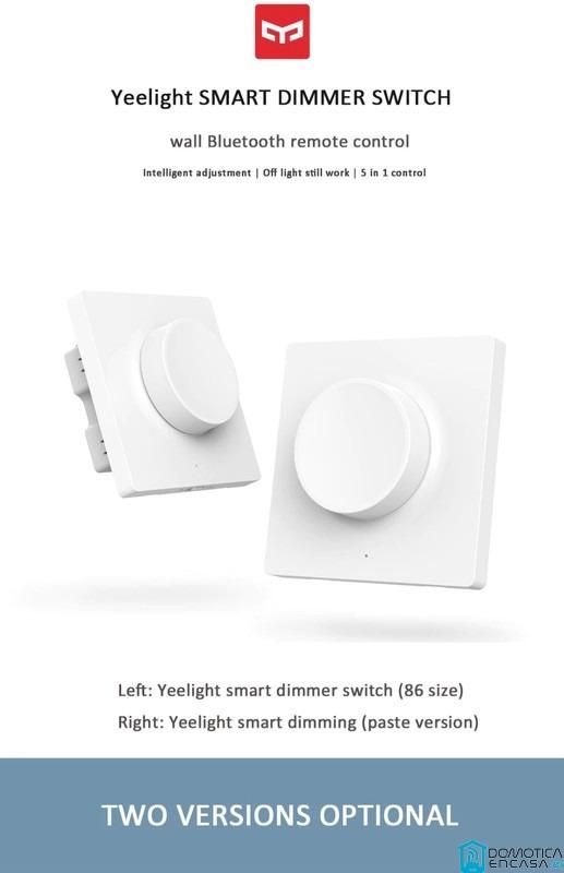 Yeelight pone a la venta 2 pulsadores ajustables para el control total de la iluminación