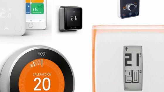 Termostatos que funcionan con Alexa y Google Assistant